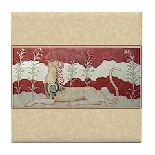 Minoan Gryphon- Tile Coaster