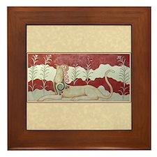 Minoan Gryphon- Framed Tile