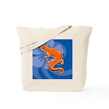 Newt Round Car Magnet Tote Bag