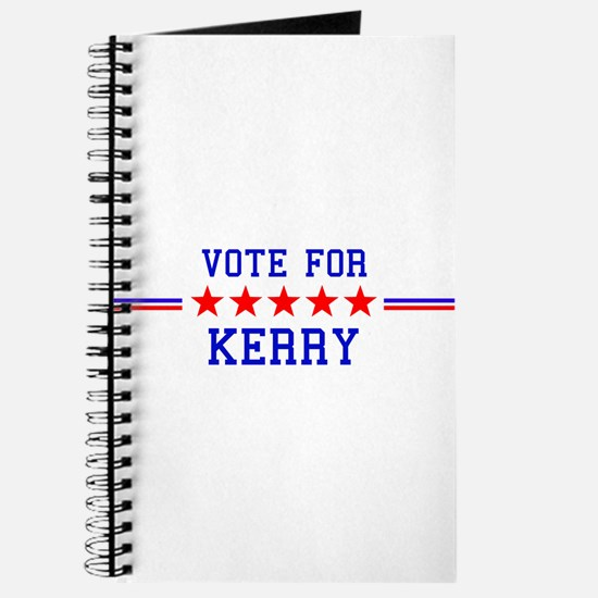 Vote for Kerry Journal