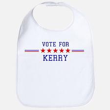 Vote for Kerry Bib