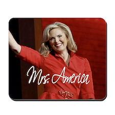 Ann Romney Election 2012 Mousepad