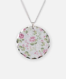 Beautiful Floral Pattern Necklace