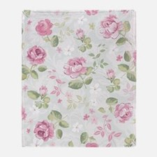 Beautiful Floral Pattern Throw Blanket