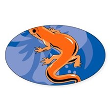 Newt Puzzle Decal
