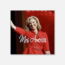 "Ann Romney Election 2012 Square Sticker 3"" x 3"""