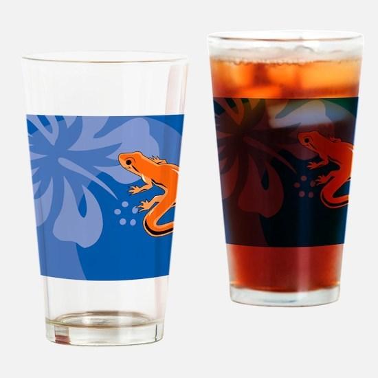 Newt USA Sticker Drinking Glass