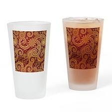 paisley copy Drinking Glass
