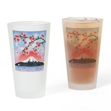 Japanese Landscape Drinking Glass