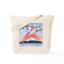 Japanese Landscape Tote Bag