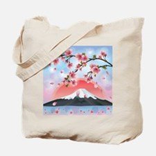 Japanese Landscape Tote Bag