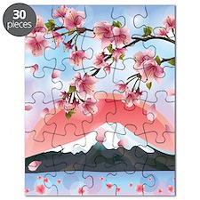 Japanese Landscape Puzzle