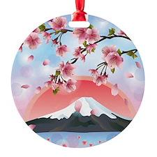 Japanese Landscape Ornament