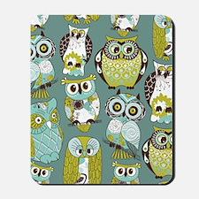 Cute Owls Mousepad