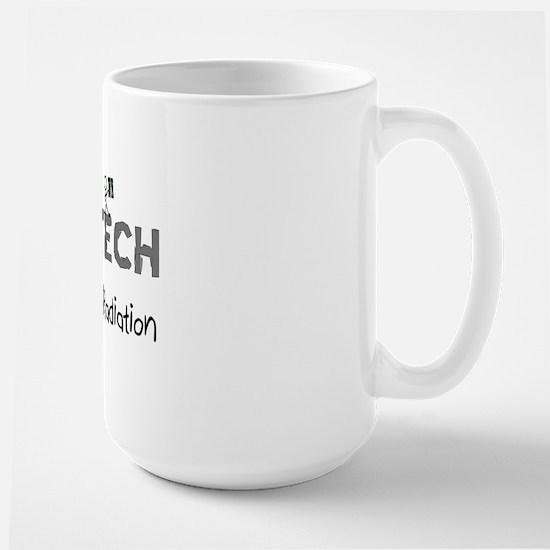 rad tech pink Large Mug