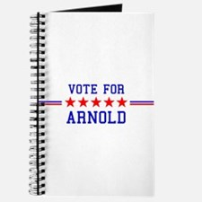 Vote for Arnold Journal