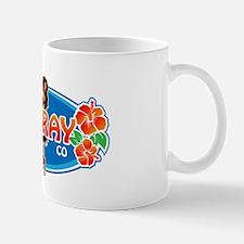 Delray Surf Company Logo Mug