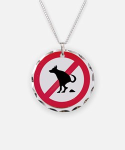 No pooping Necklace