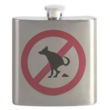 No pooping Flask
