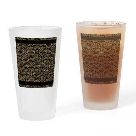 Damask Drinking Glass