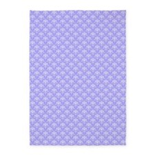 1 periwinkle for twin 5'x7'Area Rug