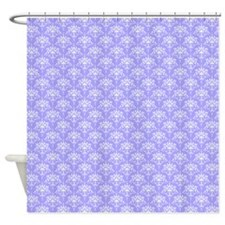 1 periwinkle for twin Shower Curtain