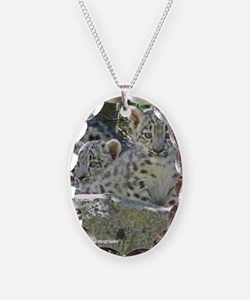 Baby Snow Leopards Necklace