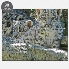 Baby Snow Leopards Puzzle