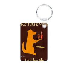 Retriever Golden Ale Keychains