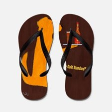 Retriever Golden Ale Flip Flops