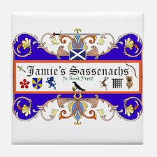 Jamie's Sassenach  Tile Coaster