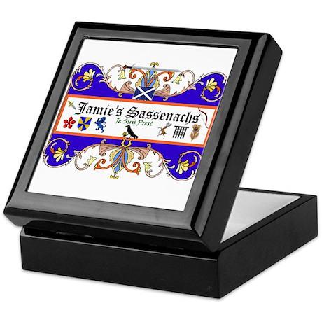 Jamie's Sassenach Keepsake Box
