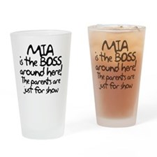 boss_mia Drinking Glass