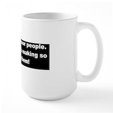 anti obama loves poor peopled Mug