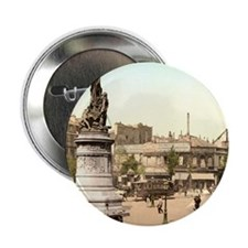 "Vintage Paris 2.25"" Button"