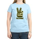 Victory Sign Women's Light T-Shirt