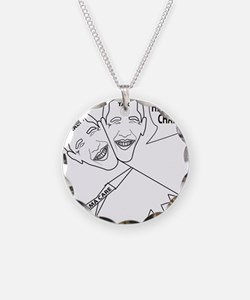 Two faced Obamacare Necklace
