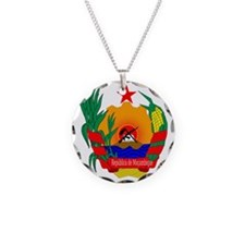mozambique coat of arms Necklace