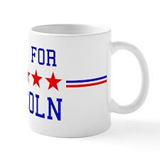 Vote for Lincoln Mug