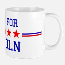Vote for Lincoln Mug