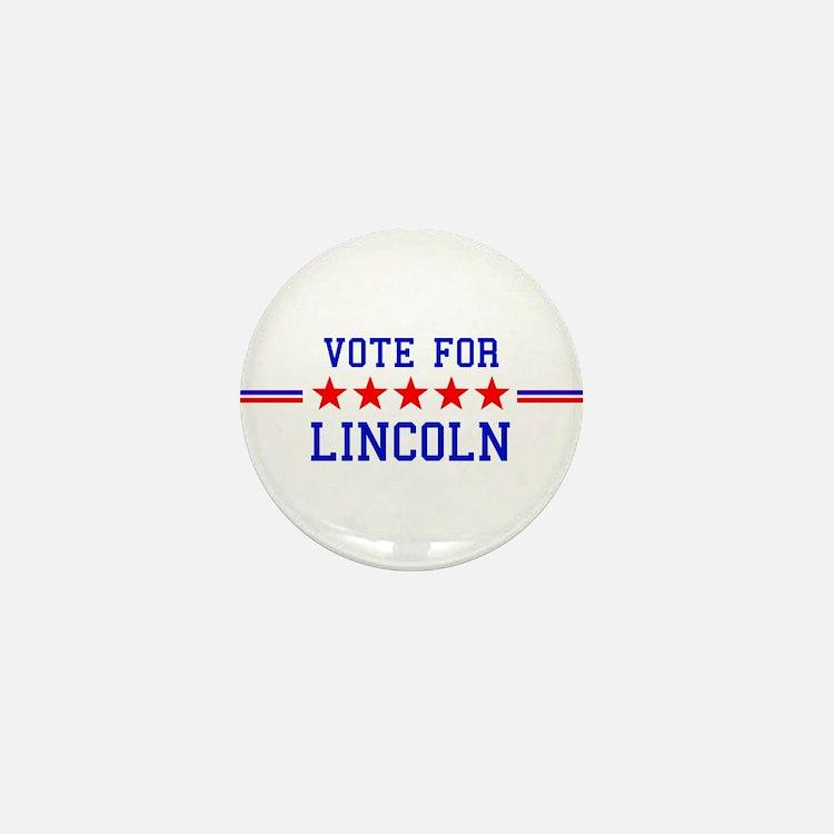 Vote for Lincoln Mini Button