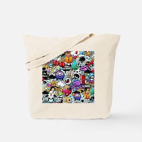 Cool Graffiti Tote Bag