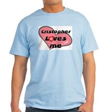 cristopher loves me T-Shirt