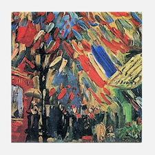 Vincent Van Gogh 14 July In Paris Tile Coaster