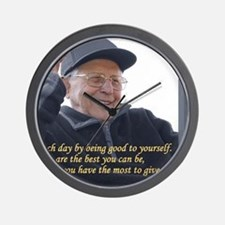 Good to yourself Wall Clock