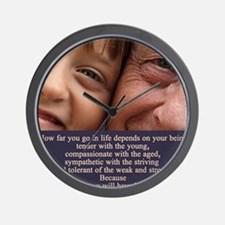 Depends on your being Wall Clock