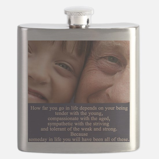 Depends on your being Flask