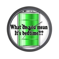 What do you mean its bedtime?!? Wall Clock