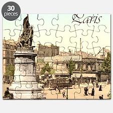 Vintage Paris Puzzle