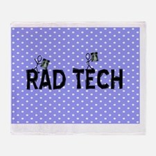 Rad Tech Necklace Throw Blanket